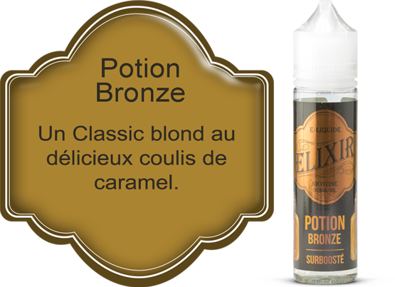 E-liquide Elixir Potion Bronze