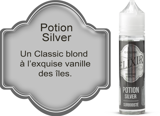 E-liquide Elixir Potion Silver