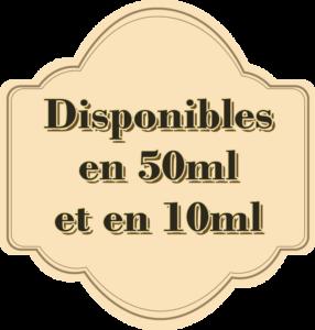 Elixir Les Potions, disponibles en bouteilles de 10 et 50ml